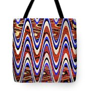 Building With Reflections Abstract Tote Bag