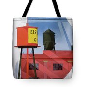 Buildings Abstraction Tote Bag by Charles Demuth