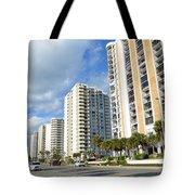 Buildings In Florida Tote Bag