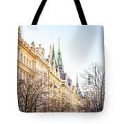 Buildings In Prague Tote Bag