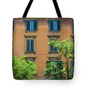 Buildings Opposite The Vatican Museum Tote Bag