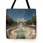 Bukarest Government Palace Tote Bag