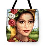 Bulgarian Beauty Tote Bag