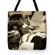 Bulgarian Market Lady Tote Bag