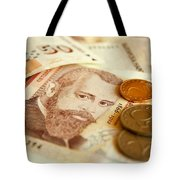 Bulgarian Money Tote Bag