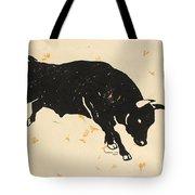 Bull 1 Tote Bag