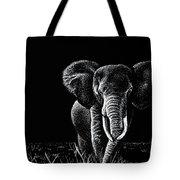 Bull Elephant Tote Bag