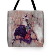 Bull Fight 009k Tote Bag