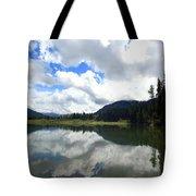 Bull Lake Cloud Reflection Tote Bag