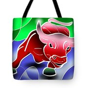 Bull Market Tote Bag by Stephen Younts
