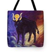 Bull Of Heaven Tote Bag