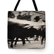 Bull Run 3 Tote Bag