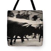 Bull Run 3 Tote Bag