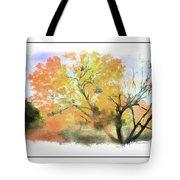Bull Run Autumn Tote Bag