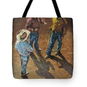 Bull Session Tote Bag