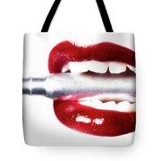 Bullet Lips Tote Bag