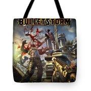 Bulletstorm Tote Bag