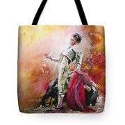 Bullfight 24 Tote Bag