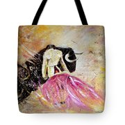 Bullfight 74 Tote Bag