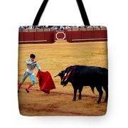 Bullfighting 22 Tote Bag