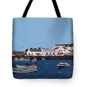 Bulloch Harbour, Dalkey Tote Bag