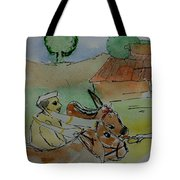 Bull's Tote Bag