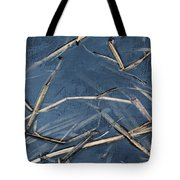 Bulrush Stalks Tote Bag