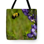 Bumble Bee And Milk-vetch Tote Bag