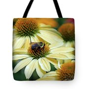 Bumble Bee At Work Tote Bag