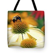 Bumble Bee On Top Tote Bag