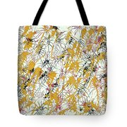 Bumble Bees Against The Windshield - V1sd92 Tote Bag