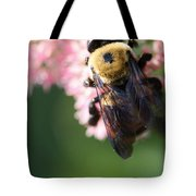 Bumble From Above Tote Bag