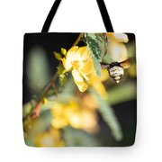 Bumblebee Heading Into Work Tote Bag