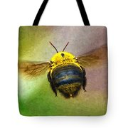 Bumblebees Flight Tote Bag