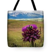 Bumblebee With The Best View Tote Bag