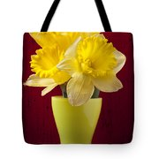 Bunch Of Daffodils Tote Bag