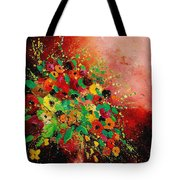 Bunch Of Flowers 0507 Tote Bag by Pol Ledent