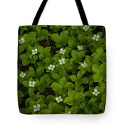 Bunchberry Carpet Tote Bag