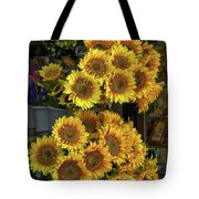 Bunches Of Sunflowers Tote Bag