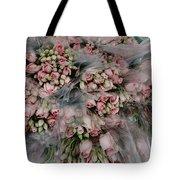 Bundles Of Pink Roses Are Gathered Tote Bag