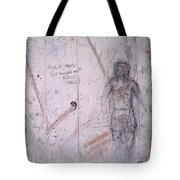 Bunker Graffiti Tote Bag