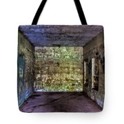 Bunker Walls Tote Bag