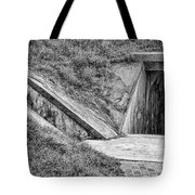 Bunkers At Foort Pulasi Tote Bag
