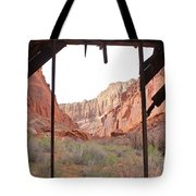 Bunkhouse View 2 Tote Bag