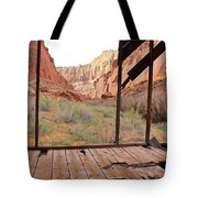 Bunkhouse View 3 Tote Bag