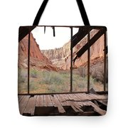 Bunkhouse View 4 Tote Bag