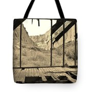 Bunkhouse View 5 Tote Bag