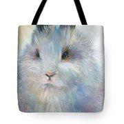Bunny Rabbit Painting Tote Bag by Svetlana Novikova