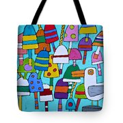 Buoyed By Seagulls Tote Bag