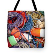 Buoys And Rope Tote Bag